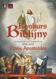 Dzieje Apostolskie 2018 plakat